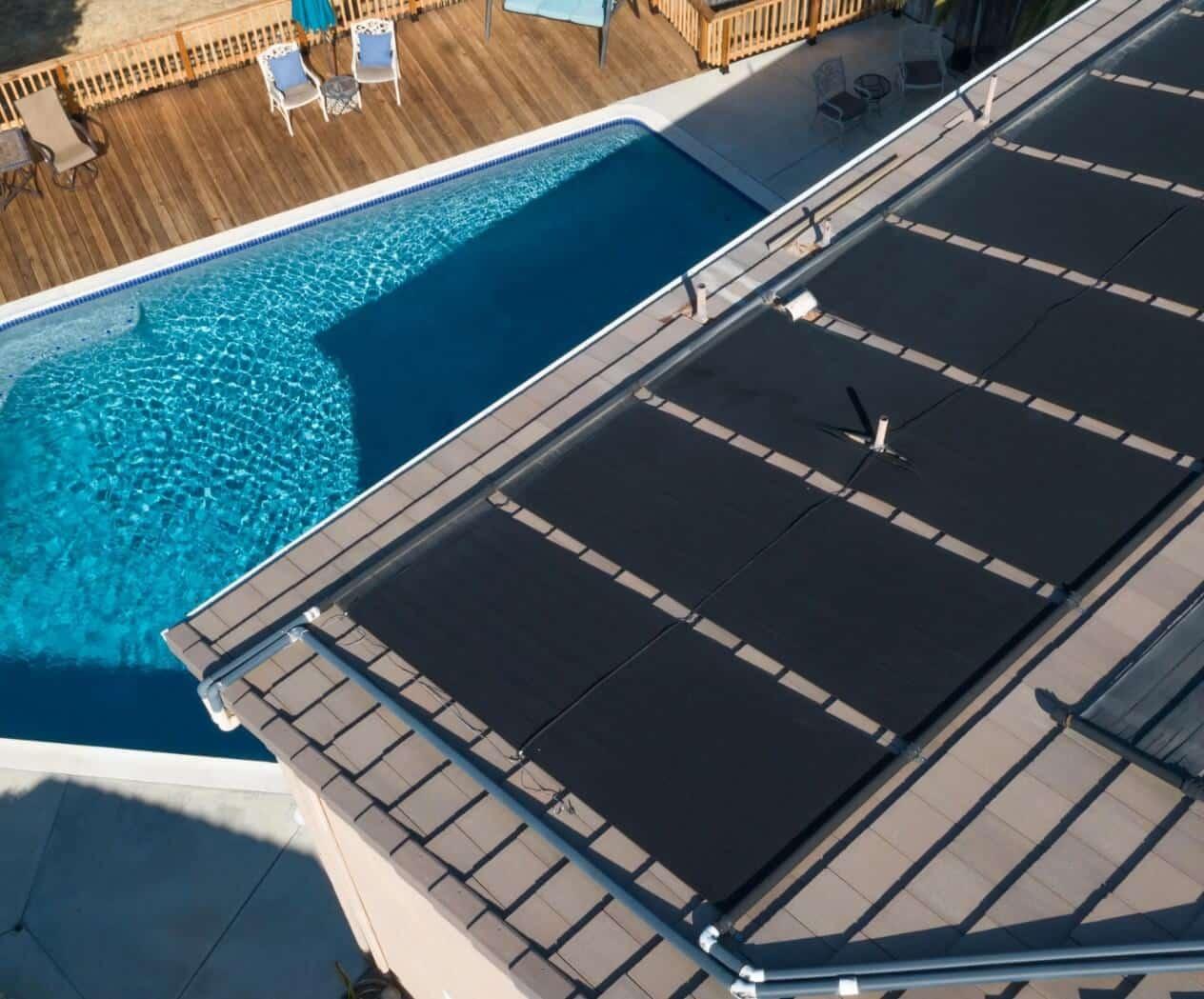 paneles solares para calentar piscinas