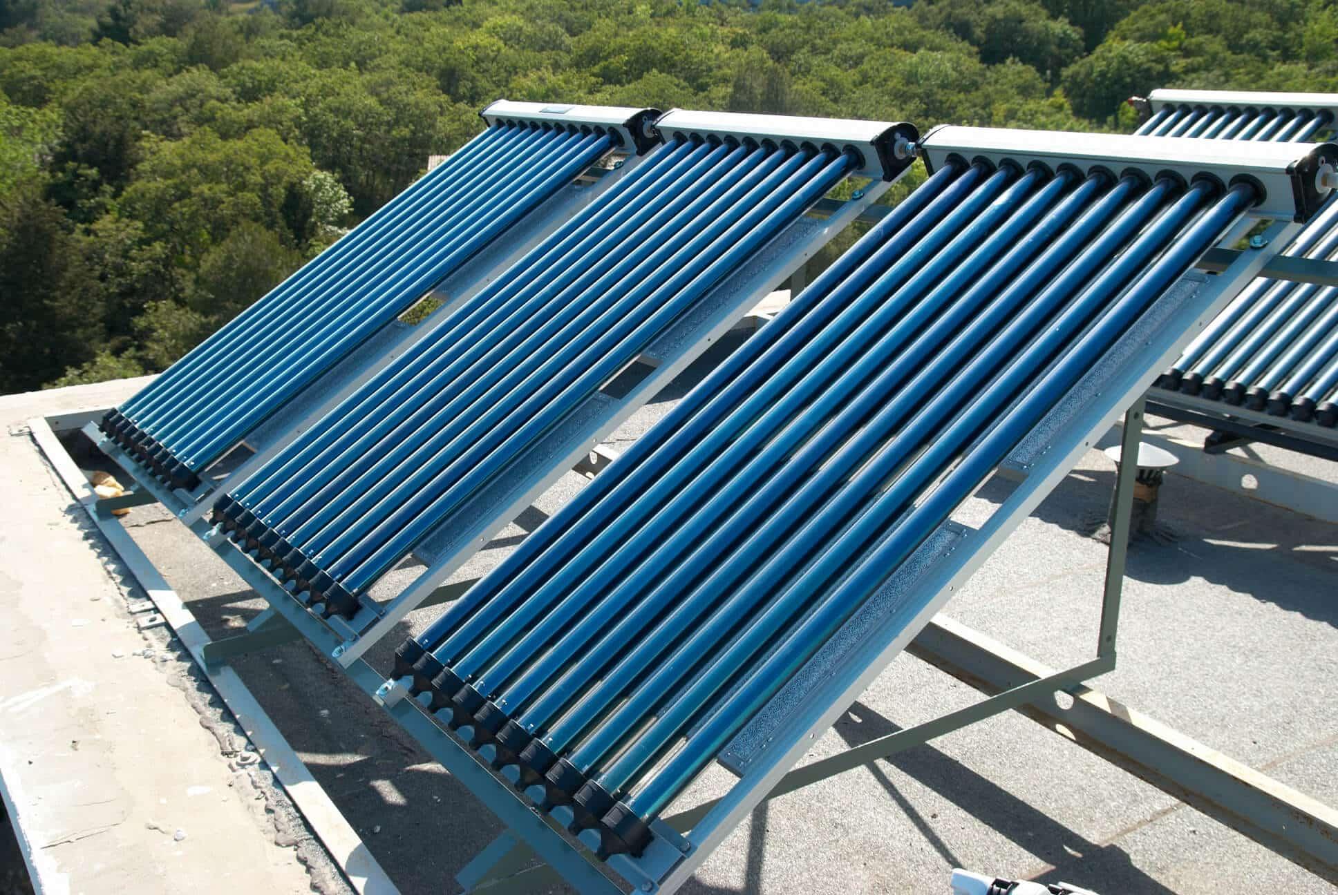 calentadores solares en lugares con temperaturas muy bajas