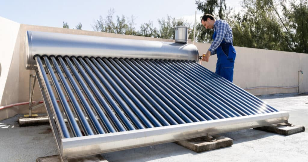 costo de mantenimiento calentador solar de agua