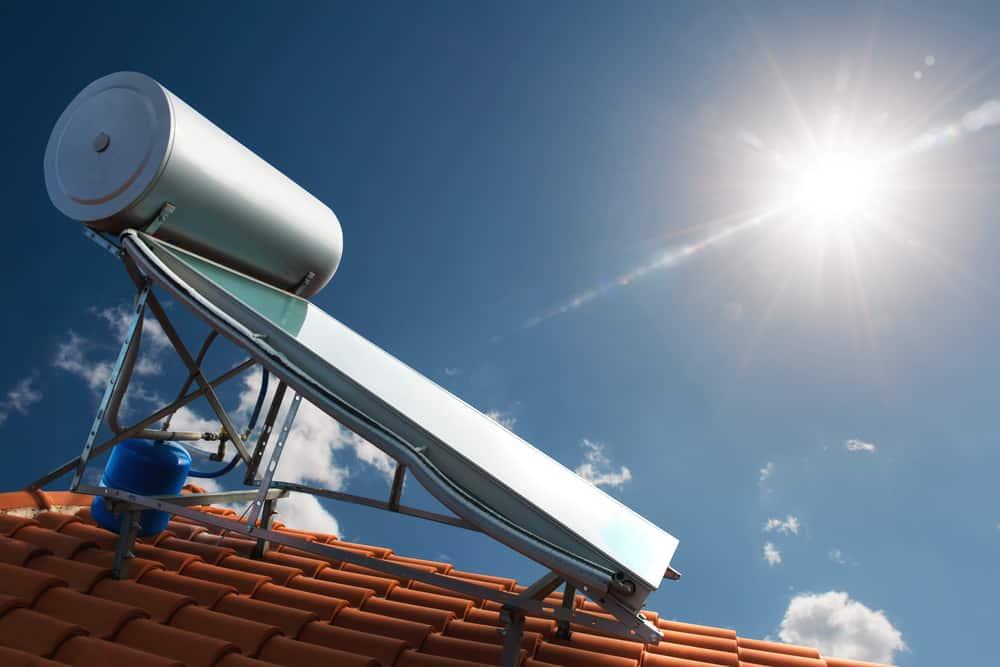 limpieza calentador solar de agua