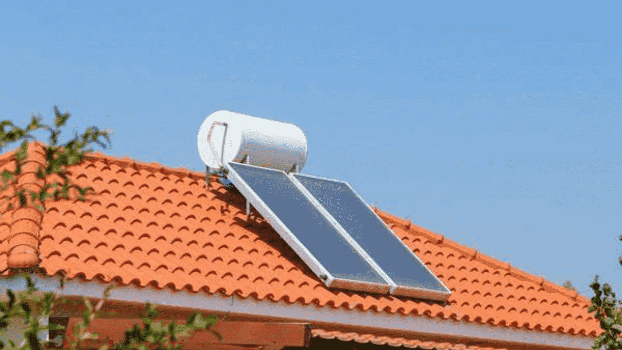 partes de un calentador solar