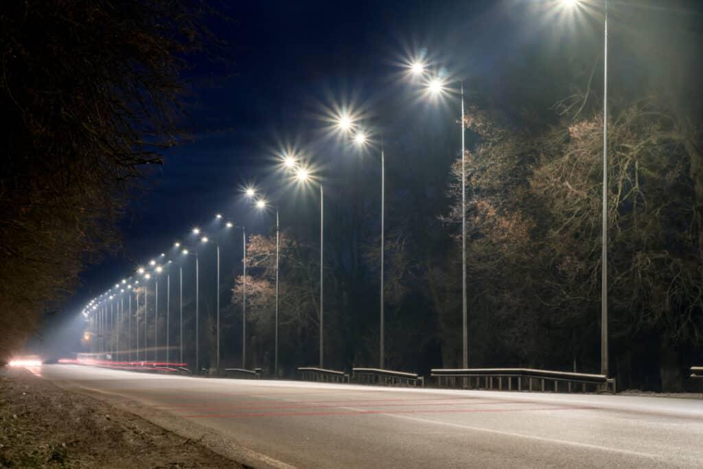 luminarias solares para exteriores